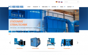 Strahlanlagen Firma Kiess